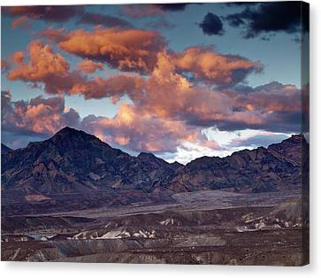 Usa, California, Death Valley National Canvas Print by Ann Collins