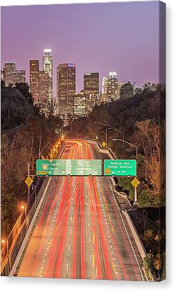 Usa, California, Los Angeles 110 Canvas Print