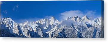 Usa, California, Mount Whitney Canvas Print by Panoramic Images