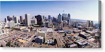 Usa, California, San Diego, Downtown Canvas Print by Panoramic Images