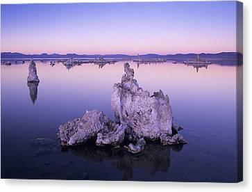 Salt Air Canvas Print - Usa, California, Tufa Formations And by Greg Vaughn