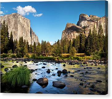 Usa, California, Yosemite National Canvas Print