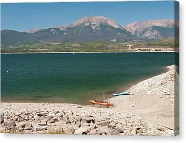 Usa, Co, Dillon Reservoir Canvas Print