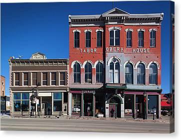 Usa, Colorado, Leadville, Historic Canvas Print by Walter Bibikow