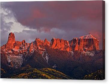 Usa, Colorado, Rocky Mountains, Owl Canvas Print by Jaynes Gallery