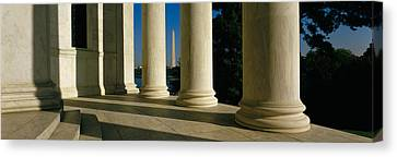 Usa, District Of Columbia, Jefferson Canvas Print by Panoramic Images
