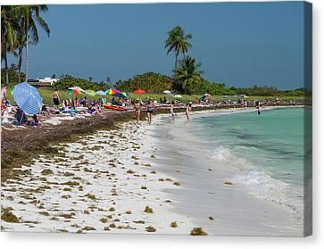 Usa, Florida, Big Pine Key, Bahia Honda Canvas Print by Charles Crust