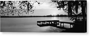 Usa, Florida, Orlando, Koa Campground Canvas Print by Panoramic Images
