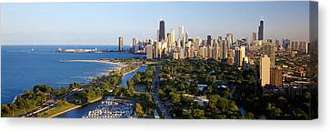 Il Canvas Print - Usa, Illinois, Chicago by Panoramic Images