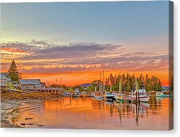 Usa, Maine, Acadia, Bass Harbor Canvas Print