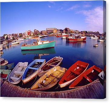 Usa, Maine, Rockport Canvas Print by Jaynes Gallery