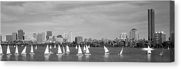 Usa, Massachusetts, Boston, Charles Canvas Print by Panoramic Images