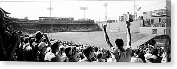 Warm Summer Canvas Print - Usa, Massachusetts, Boston, Fenway Park by Panoramic Images