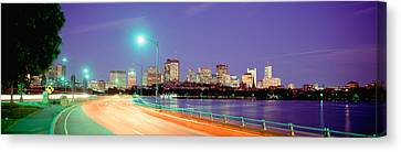 Usa, Massachusetts, Boston, Highway Canvas Print by Panoramic Images