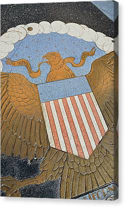 Bas Relief Canvas Print - Usa, Nevada, Bas Relief Plaque by Kevin Oke
