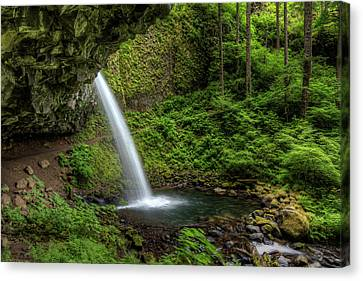 Usa, Or, Columbia River Gorge Canvas Print by Brent Bergherm