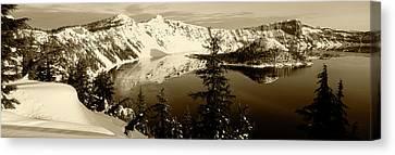Crater Lake National Park Canvas Print - Usa, Oregon, Crater Lake National Park by Paul Souders