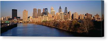 Usa, Pennsylvania, Philadelphia Canvas Print by Panoramic Images
