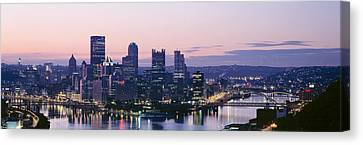 Usa, Pennsylvania, Pittsburgh Canvas Print by Panoramic Images