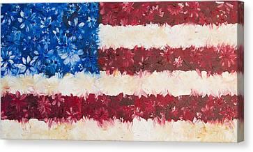 Usa Proud Canvas Print