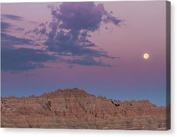 Usa, South Dakota, Badlands National Canvas Print by Jaynes Gallery