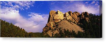 Usa, South Dakota, Mount Rushmore Canvas Print
