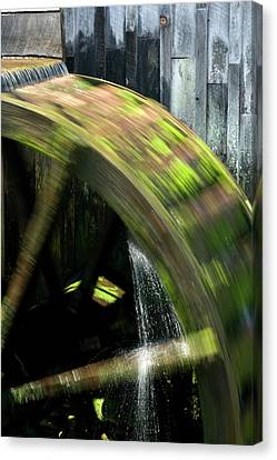 Grist Mill Canvas Print - Usa, Tennessee, Cades Cove by Jaynes Gallery