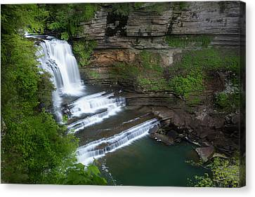 Usa, Tennessee, Cummins Falls State Park Canvas Print by Jaynes Gallery