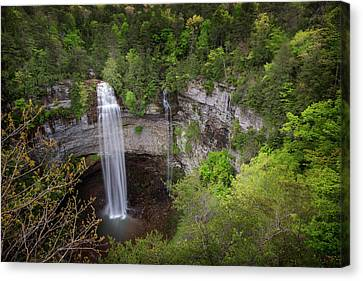 Usa, Tennessee Fall Creek Falls Canvas Print by Jaynes Gallery
