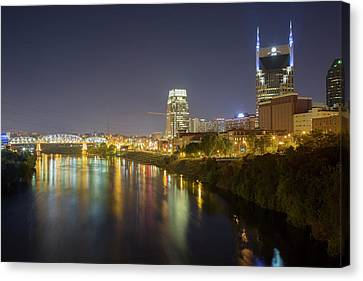 Downtown Nashville Canvas Print - Usa, Tennessee, Nashville by Jaynes Gallery