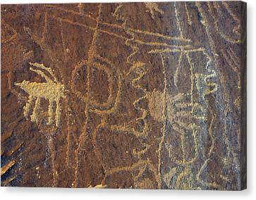Gerry Canvas Print - Usa, Utah, Petroglyphs, Sandstone by Gerry Reynolds