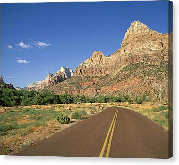 Openair Canvas Print - Usa, Utah, Zion National Park � Angelo by Tips Images