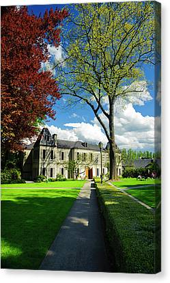 Usa, Washington, Woodinville Canvas Print by Richard Duval