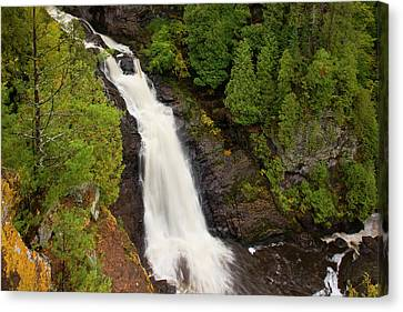 Usa, Wisconsin, Pattison State Park Canvas Print by Jaynes Gallery