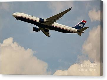 Usairways Canvas Print by Rene Triay Photography