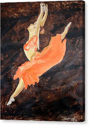 U.s.ballet Dance Canvas Print by Anand Swaroop Manchiraju