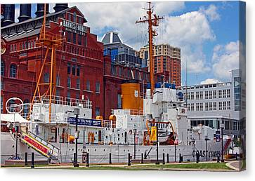 Uscg Cutter Taney Canvas Print