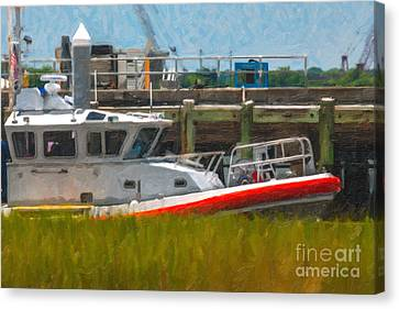 Uscg Station Charleston Canvas Print by Dale Powell