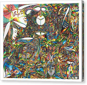 Use Infinity Canvas Print by diNo