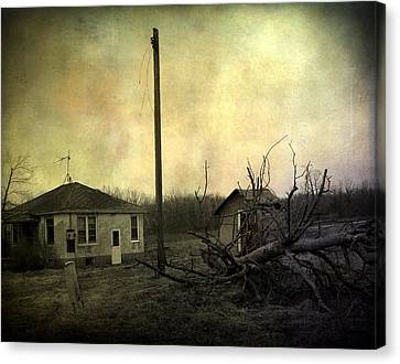 Used To Be Canvas Print by Gothicrow Images