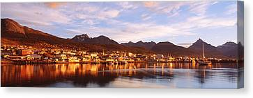 Ushuaia Tierra Del Fuego Argentina Canvas Print by Panoramic Images