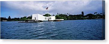 Uss Arizona Memorial, Pearl Harbor Canvas Print