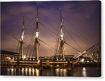 Uss Constitution Boston   Canvas Print by John McGraw