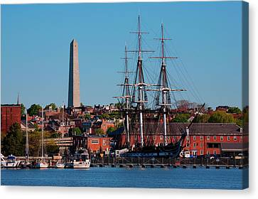 Uss Constitution Historic Ship, Old Canvas Print