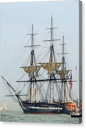Uss Constitution Canvas Print