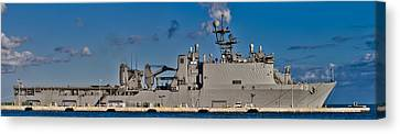 Uss Fort Mchenry Canvas Print