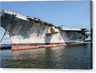 Uss John F. Kennedy Canvas Print