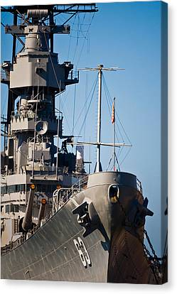 Uss Missouri, Pearl Harbor, Honolulu Canvas Print by Panoramic Images
