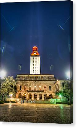 Ut Tower Regular Season Win Canvas Print