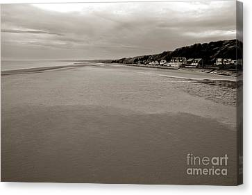 Utah Beach Canvas Print by Olivier Le Queinec